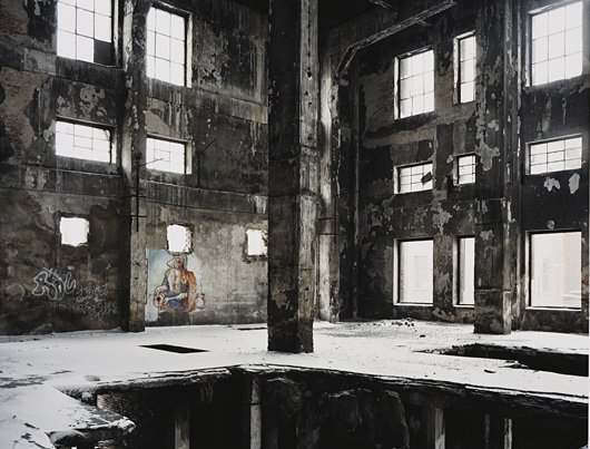 5: MARK POWER, Abandoned factory, Zyrardow, Poland, Feb