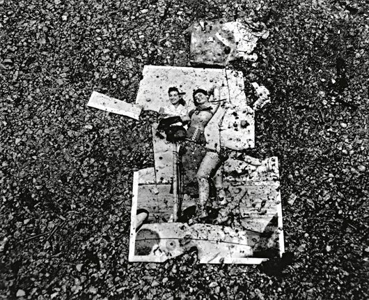20: FOUAD ELKOURY, Image on Asphalt from Beirut City Ce