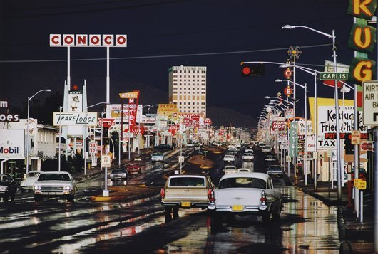 100: ERNST HAAS, Route 66, Albuquerque, New Mexico, USA