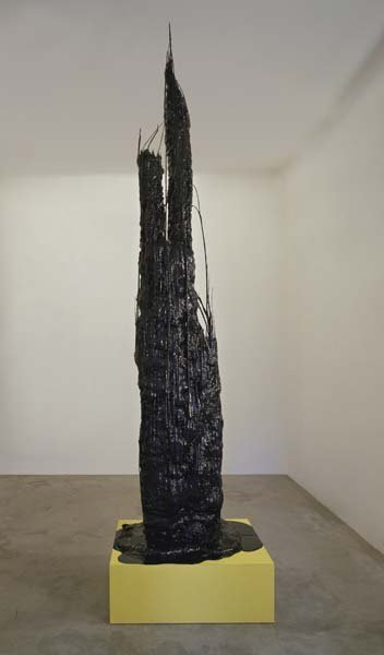 4: STERLING RUBY, Monument Stalagmite/Recombine Black &
