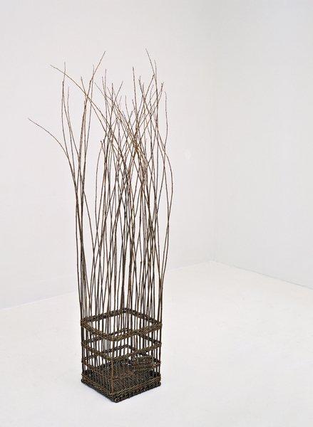 103: MONA HATOUM, Untitled (Willow Cage)