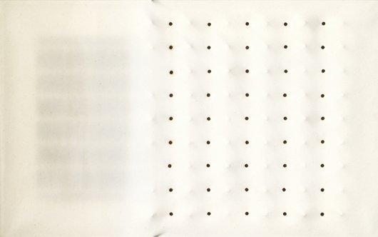 109: ENRICO CASTELLANI, Untitled