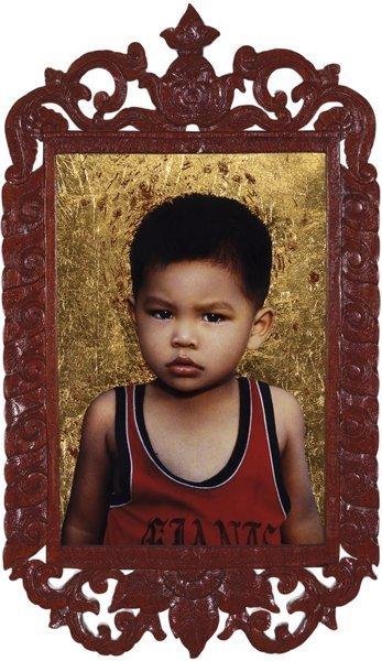 112: PIERRE ET GILLES, Les enfants du Laos