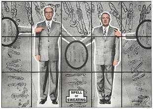 10: GILBERT & GEORGE, Spell of Sweating, 1998