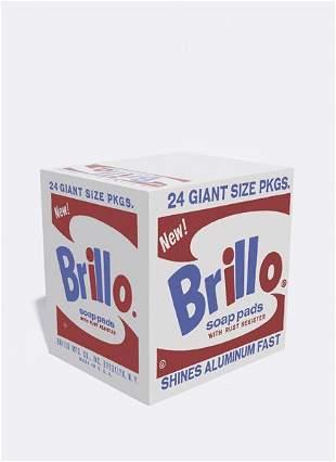 16: ANDY WARHOL, Brillo Box, 1964