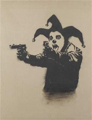 28: BANKSY, Insane Clown, 2001