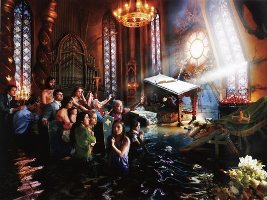111: DAVID LaCHAPELLE, Cathedral, 2007
