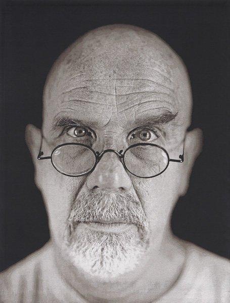 133: CHUCK CLOSE, Self-Portrait, 2006