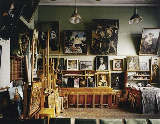 84: ANDREW MOORE, Restoration Studio, Russia, 2002