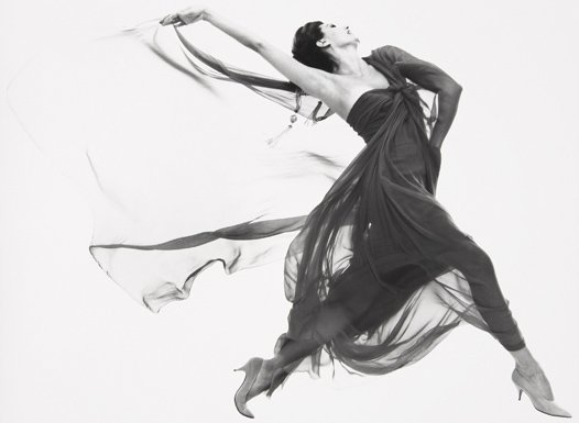 200: RICHARD AVEDON, Cyd Charisse, Evening Dress by Mac