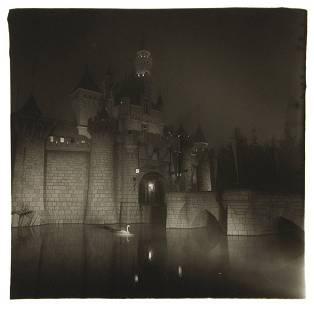 204: DIANE ARBUS, A castle in Disneyland, Cal., 1962
