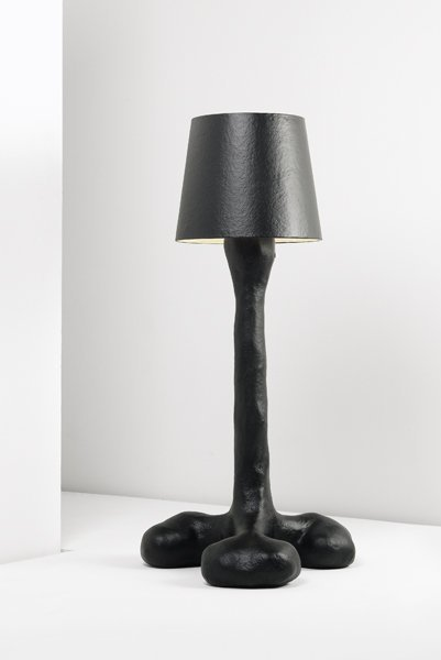 "19: ATELIER VAN LIESHOUT, ""Prick Lamp (Black, Thick)"","