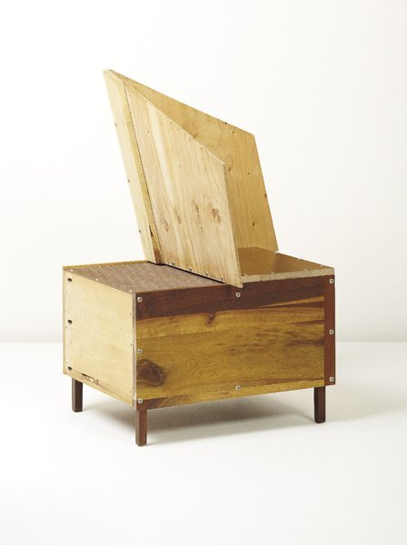 "23: MARTINO GAMPER, Unique ""Mono-Corner"" chair, 2008"
