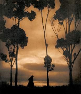 KARL STRUSS (American, 1886-1980) STORM CLOUDS,