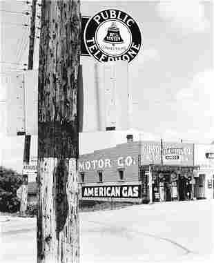 WALKER EVANS (American, 1903-1975) HIGHWAY CORN