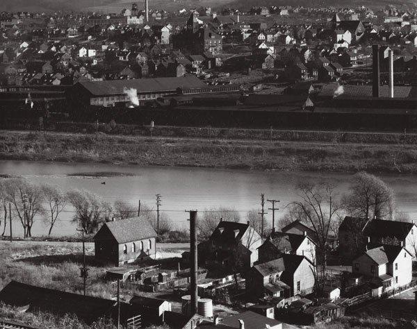 17:  WALKER  EVANS  (American, 1903-1975)  VIEW OF EAST