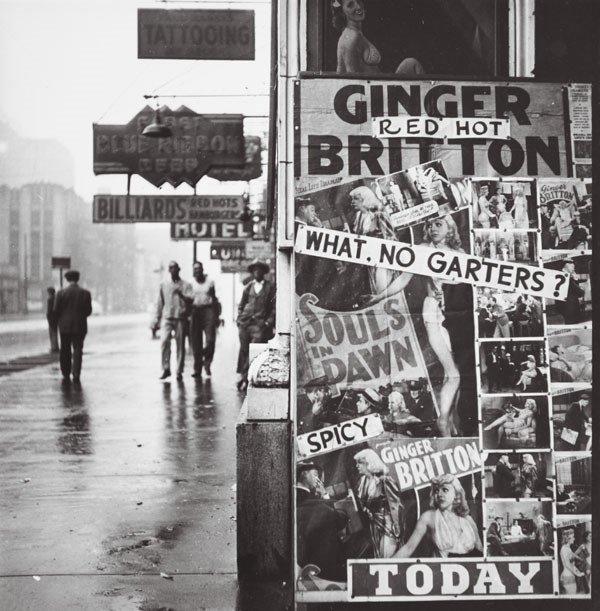 19:  WALKER  EVANS  (American, 1903-1975)  STATE STREET