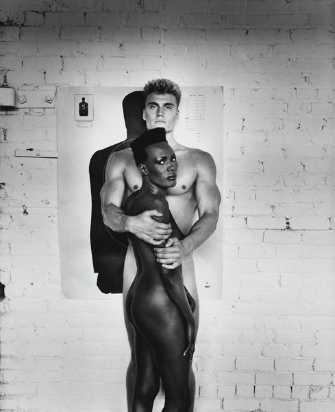 3: HELMUT NEWTON, Grace Jones and Dolph Lundgren, Los A