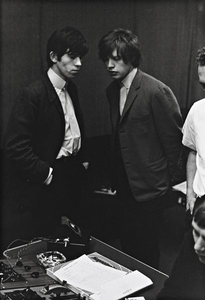 12: PHILLIP TOWNSEND, Mick and Keith in Studio, 1960s