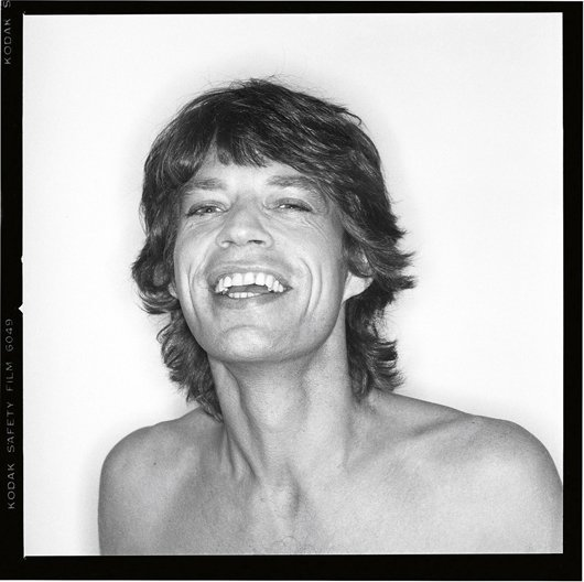 14: PETER STRONGWATER, Mick Jagger, August, 1981