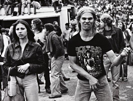 22: JOSEPH SZABO, Rolling Stones Fans # 13, 1978