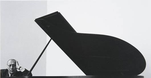 228: ARNOLD NEWMAN, Igor Stravinsky, New York City, 194