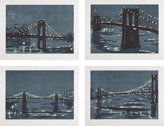3: RICHARD BOSMAN, Bridges I-IV, 1997