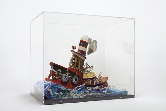 7: RED GROOMS, Ruckus Tugboat, 2006