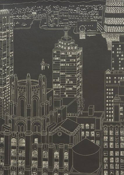 12: YVONNE JACQUETTE, Lights and Towers, Lower Manhatta