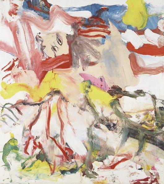 80: WILLEM DE KOONING, Untitled, 1980