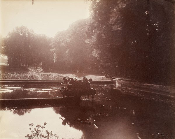 73:  EUGÈNE  ATGET  (French, 1857-1927)  TRIANON