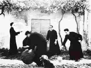 MARIO GIACOMELLI (Italian, 1925-2000) PRIESTS,