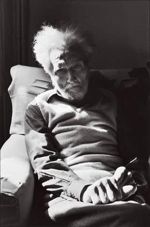 HENRI CARTIER-BRESSON (French, 1908-2004) EZRA