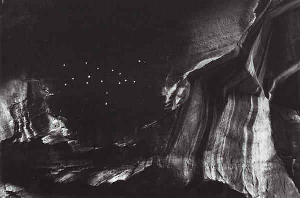 198:  MINOR  WHITE  (American, 1908-1976)  BULLET HOLES