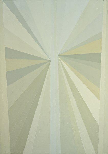 5: MARK GROTJAHN, Untitled (Green Butterfly), 2002