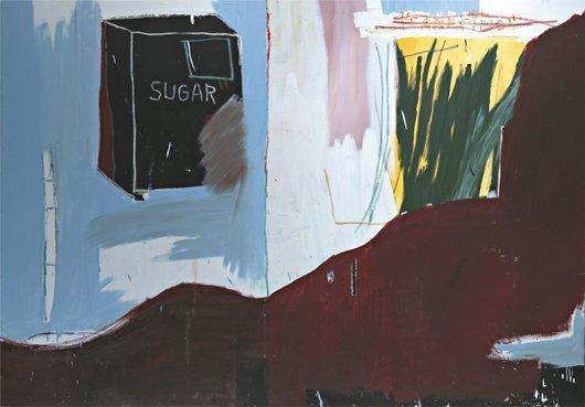 18: JEAN-MICHEL BASQUIAT, Cash Crop, 1984
