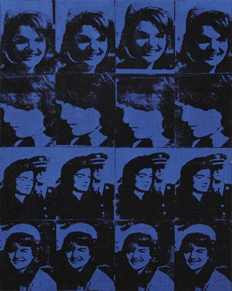 6: RICHARD PETTIBONE, Sixteen Jackies 1964, 1996