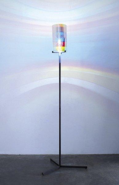 18: OLAFUR ELIASSON, Striped Eye Lamp, 2005