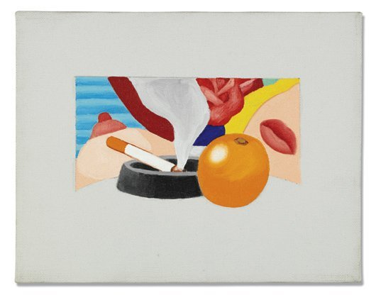 19: TOM WESSELMANN, Study for Bedroom Painting #2, 1967