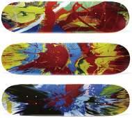 103: DAMIEN HIRST, Supreme Skate Decks (Spin), 2009