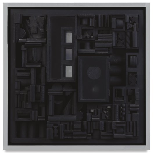 7: LOUISE NEVELSON, Night Image X, 1966