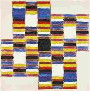 10: ALFRED JENSEN, Ascending, I, 1958