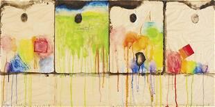 98: JIM DINE, Four Palettes, 1963