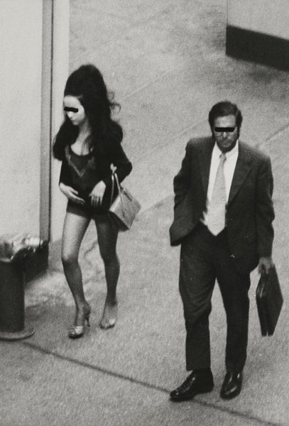 9: BURT GLINN, Untitled from Prostitutes in New York, 1