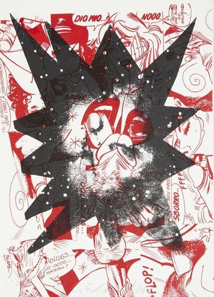19: KENNY SCHARF, Untitled (Sborro), 1993