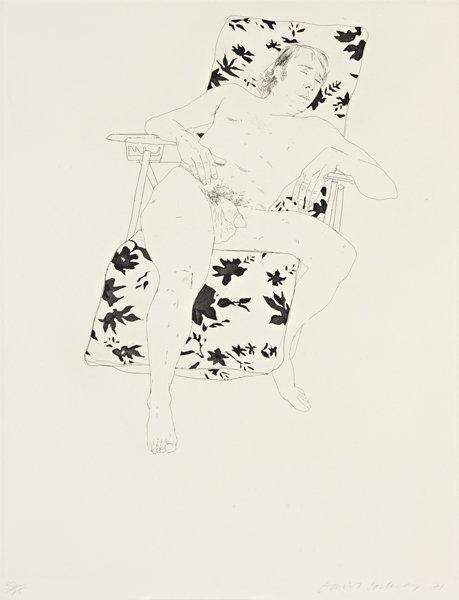 20: DAVID HOCKNEY, Mo asleep, 1971