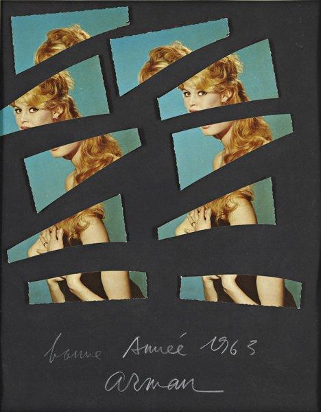 23: ARMAN, Untitled (Brigitte Bardot), 1963
