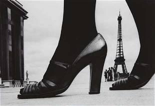 FRANK HORVAT, Shoe and Eiffel Tower, Paris, 1974