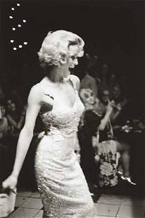 NAN GOLDIN, Lola modeling, Boston, 1973
