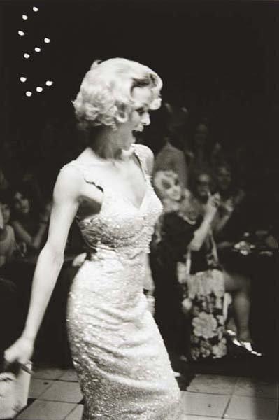 10: NAN GOLDIN, Lola modeling, Boston, 1973